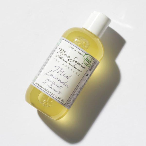 savon liquide BIO miel lavande