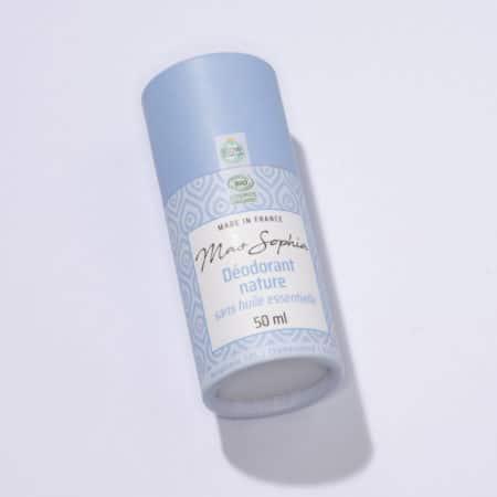 déodorant sans huile essentielle